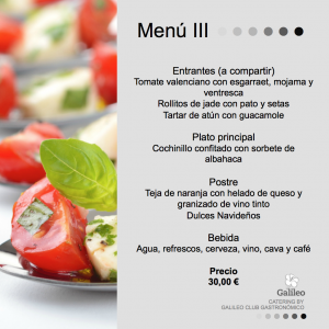 Menu catering valencia 3